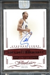 2014-15 Panini Flawless #FF-SC Stephen Curry Auto Ruby Red 10/15