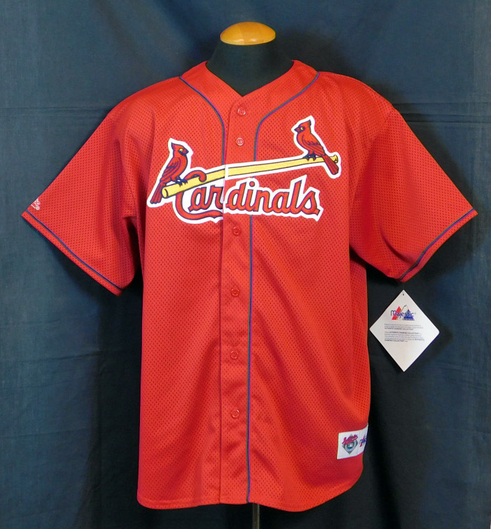 huge discount 1aec9 01ab0 Lot Detail - Mark McGwire Signed St. Louis Cardinals Replica ...