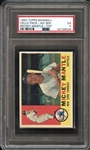 1960 Topps Baseball Cello Pack 4th Series Mickey Mantle on Top PSA 5 EX