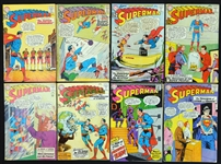 1961-1982 Superman Comic Book Group of (127)