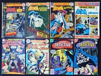 1969-1990 The Brave and the Bold/Detective Comics (Batman) Comic Book Group of (88)