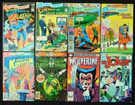 1978-1982 DC Comics Presents/Green Lantern/Joker/Wolverine/Fantastic Four Comic Book Group of (55)