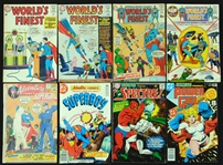 1964-1982 Worlds Finest/Showcase/Adventure/Teen Titans Etc. Comic Book Group of (94)