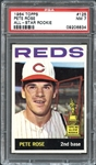 1964 Topps #125 Pete Rose All-Star Rookie PSA 7 NM