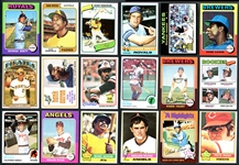 1970-1980 Topps Baseball Run of Complete and Near-Complete Sets