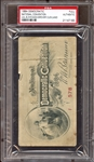1884 Democratic National Convention Full Ticket PSA AUTHENTIC