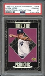 1995 U.D. Award Winners #H14 Derek Jeter Predictors-Redemption PSA 10 GEM MT