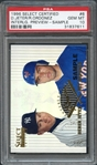 1996 Select Certified #6 D. Jeter/R. Ordonez Interlg. Preview-Sample PSA 10 GEM MT