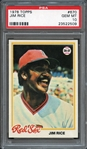 1978 Topps #670 Jim Rice PSA 10 GEM MT