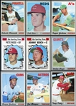 1970 Topps Baseball Partial Set (496/720) With Over 600 Extras