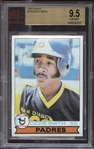 1979 Topps #116 Ozzie Smith BVG 9.5 GEM MINT