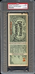 1909 Harvard Int Proof - Not Valid for Admission Full PSA Authentic