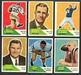 1960 Fleer Football Complete Set with Extras