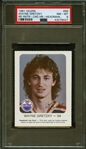 "1981 Oilers Red Rooster #99 Wayne Gretzky Long Hair ""Headman the Puck"" PSA 8 NM-MT"