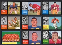 1962 Topps Group of Over 40 Football Cards