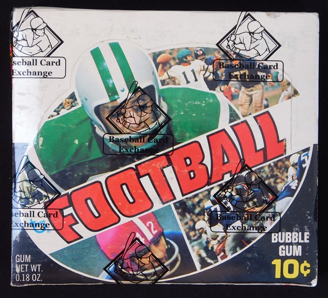 1970 Topps Football Full Unopened Series 1 Wax Box BBCE