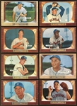 1955 Bowman Baseball Lot of Over (180) With Stars & HOFers