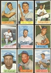 1954 Bowman Baseball Group of Over (90) with Stars and HOFers