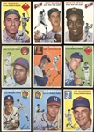 1954 Topps Baseball Group of Nearly (50) with Stars and HOFers