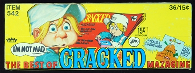 1978 Fleer The Best of Cracked Magazine Full Unopened Wax Box