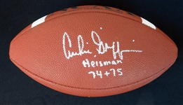 Archie Griffin Signed Official NCAA Football JSA
