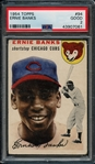 1954 Topps #94 Ernie Banks PSA 2 GOOD