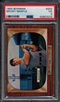 1955 Bowman #202 Mickey Mantle PSA 3 VG