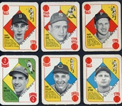 1951 Topps Red Back Near Complete Set (46/52)
