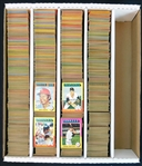 1975 Topps Baseball Shoebox Collection of Nearly (4000) Cards