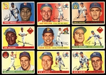 1952-1957 Topps Baseball Shoebox Collection of (124)