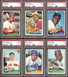1965 Topps Baseball Group of (50) with (2) Morgan RC