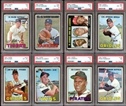 1967 Topps Baseball Group of (52) with PSA Graded