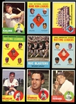 1963 Topps Baseball Group of (197) with Stars and HOFers