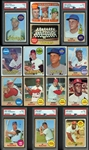 1968-69 Topps Baseball Group of Approximately (650) Cards with PSA Graded & Extras