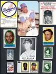 1961-1989 Esoteric Group of Over (300) Baseball Stamps, Stickers and Other Items
