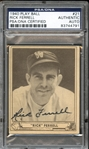 1940 Play Ball #21 Rick Ferrell Autographed PSA/DNA AUTHENTIC