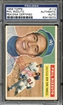 1956 Topps #113 Phil Rizzuto Autographed PSA/DNA AUTHENTIC