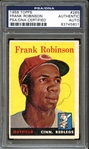 1958 Topps #285 Frank Robinson Autographed PSA/DNA AUTHENTIC