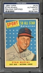 1958 Topps #476 Stan Musial All Star Autographed PSA/DNA AUTHENTIC