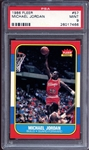 1986 Fleer #57 Michael Jordan PSA 9 MINT