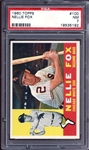 1960 Topps #100 Nellie Fox PSA 7 NM