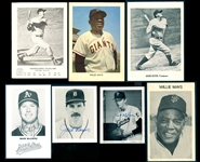 1960s-1980s Picture Pack Photo & Postcard Collection of Over (40) Items with Gehrig, Koufax & Mantle