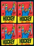 1987-88 OPC Hockey Group of (4) Unopened Wax Packs