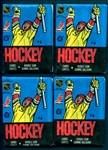 1988-89 OPC Hockey Group of (4) Unopened Wax Packs