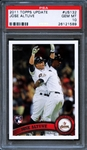 2011 Topps Update #US132 Jose Altuve PSA 10 GEM MT