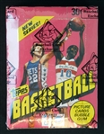 1981-82 Topps Basketball Unopened Wax Box (BBCE)