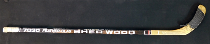 1990s Paul Coffey Game-Used Hockey Stick