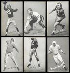 1948-1952 W468 Exhibits Football Group of (28) with Stars and HOFers