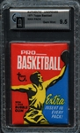 1971 Topps Basketball Wax Pack AUTHENTIC GAI 9.5 GEM MINT