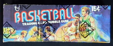 1975-76 Topps Basketball Full Unopened Wax Box BBCE